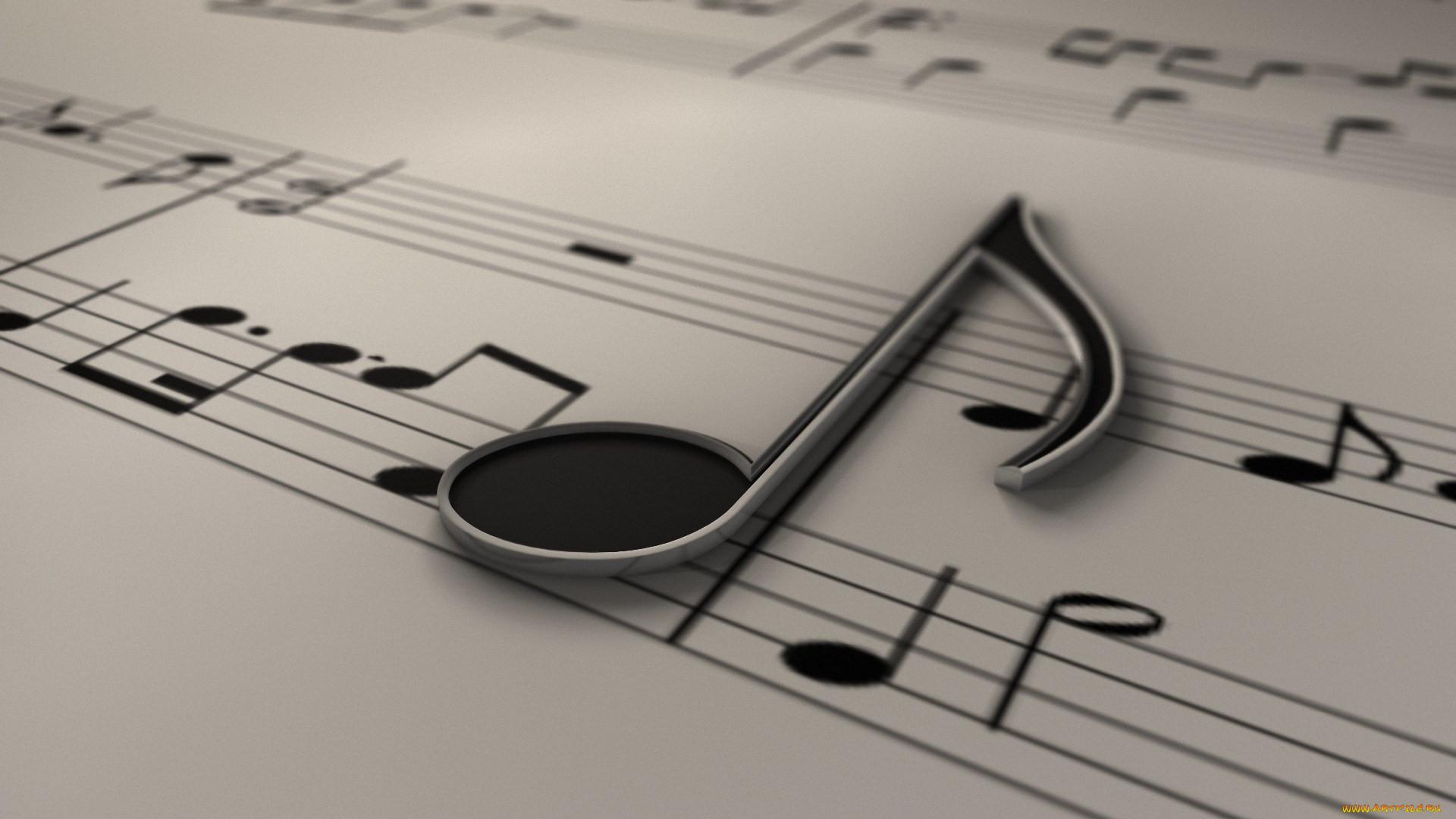 картинки про музыку ноты львенок